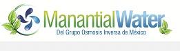 logo manantialwater