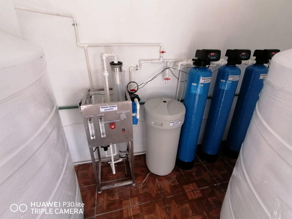 planta purificadora de agua 400 garrafones
